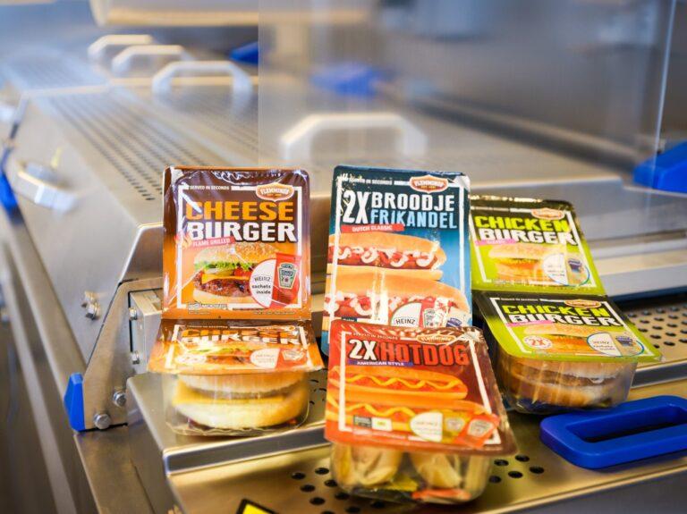 Testimonial Convenience foods
