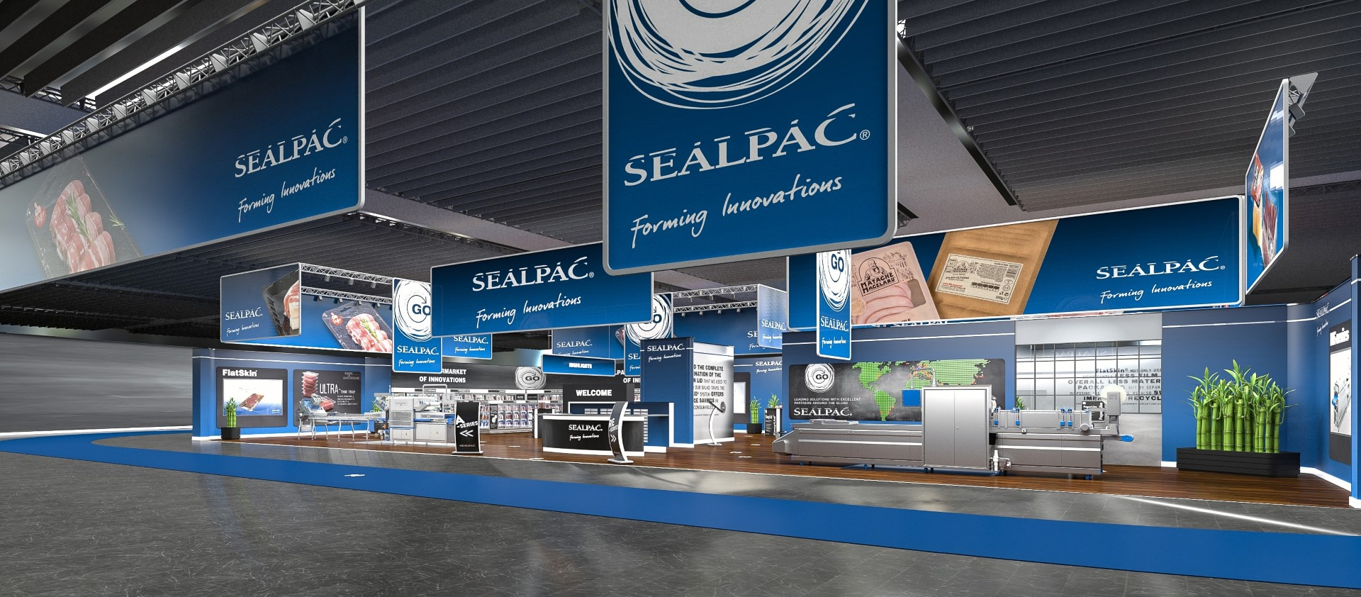 SEALPAC virtual stand